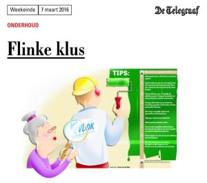 Telegraaf-i - 5 maart 2016 - Flinke klus-klein
